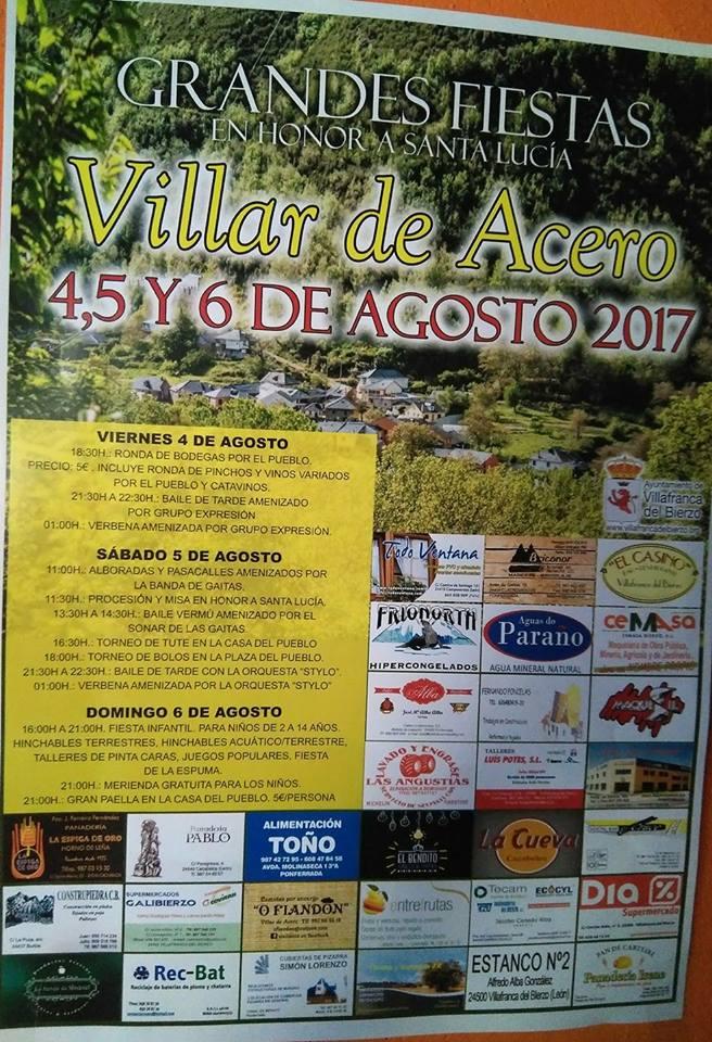 Grandes Fiestas en Villar de Acero 3
