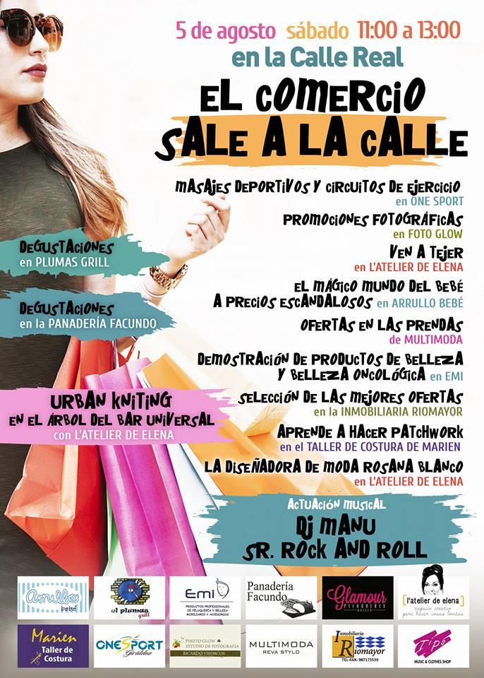 La calle Real reivindica este sábado su espacio en Ponferrada con actividades organizadas por los comercios 1