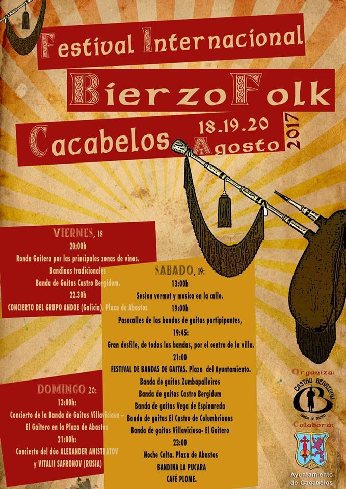 Cacabelos organiza el Festival internacional Bierzo Folk 1
