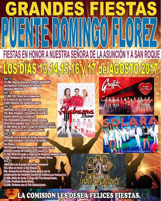 Grandes Fiestas en Puente Domingo Flórez 2017 3