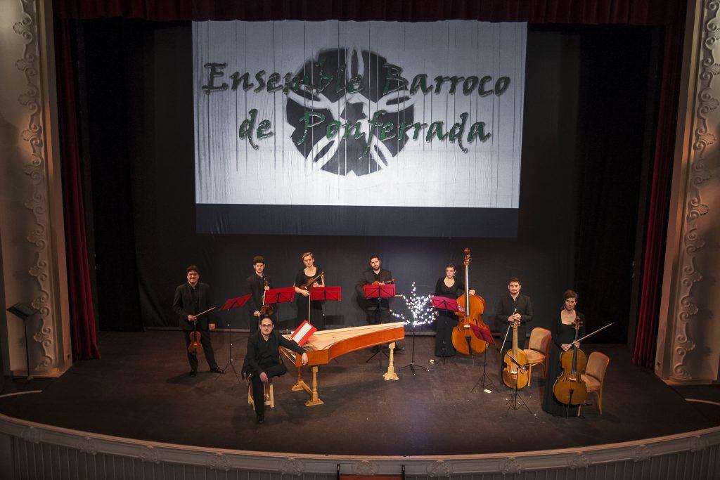 El Ensemble Barroco de Ponferrada cierra con Las cuatro estaciones de Vivaldi el ciclo Corteza de Encina 1