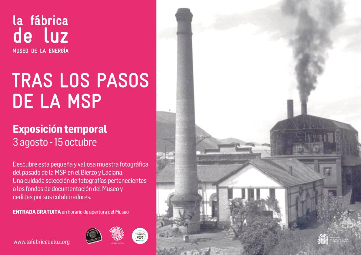"""El Museo de la Energía inaugura la exposición """"Tras los pasos de la MSP"""" 1"""