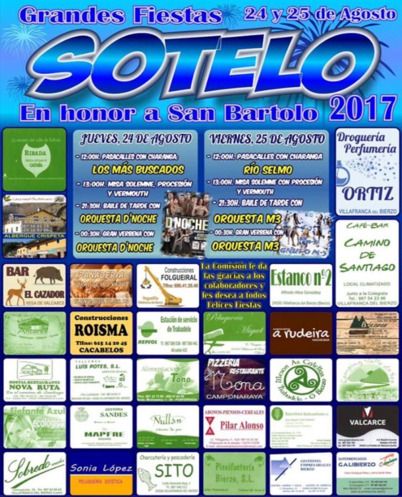 Grandes Fiestas en Sotelo 2017 1
