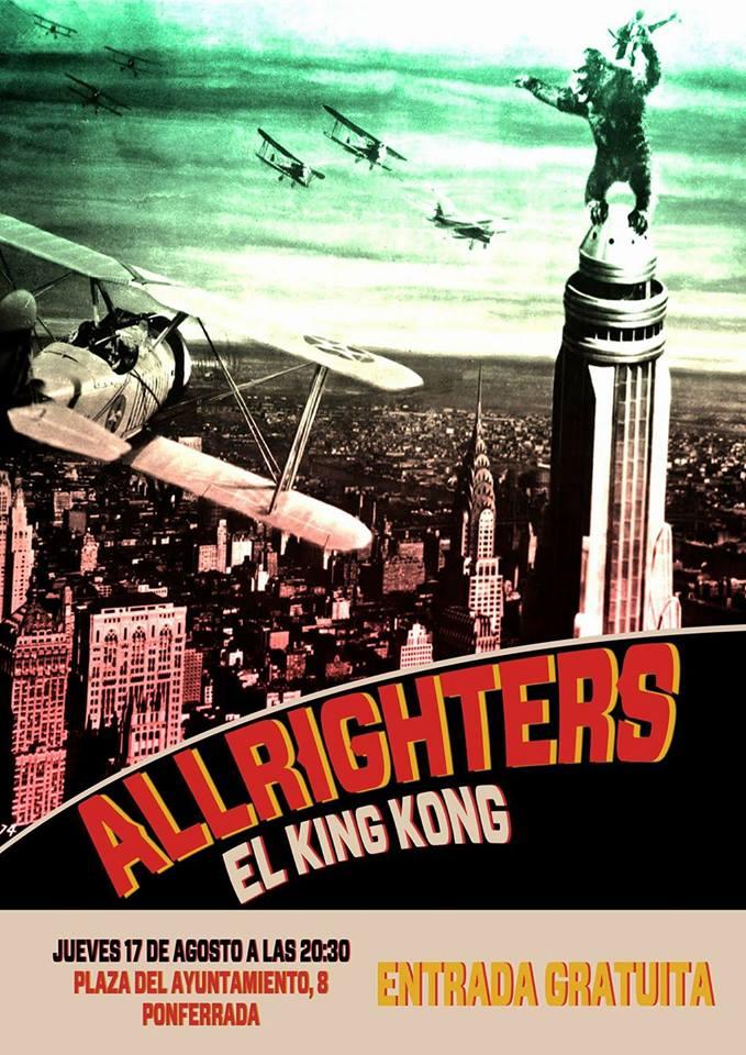 Los leoneses Allrighters en directo este jueves en El King Kong 1