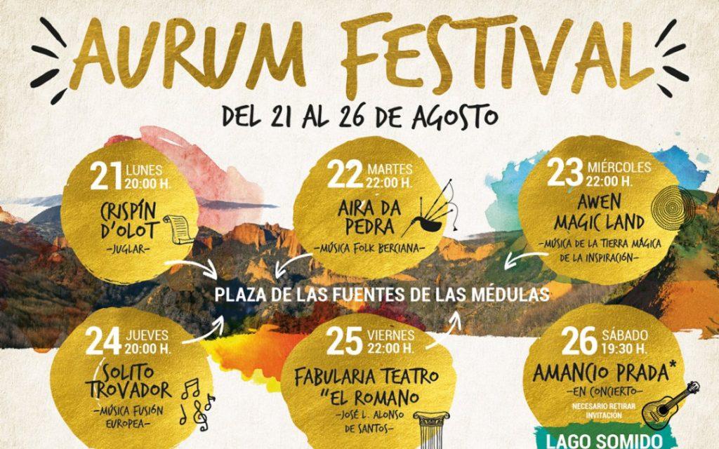 Aurum Festival, 20 aniversario de la declaración de Las Médulas como patrimonio de la humanidad 1