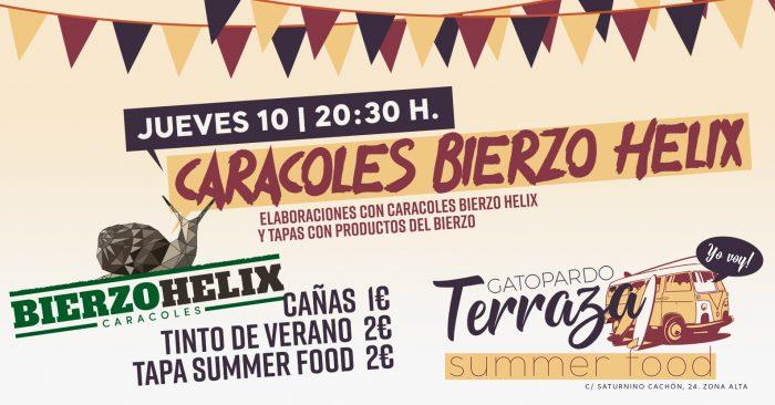 Gatopardo propone para el jueves elaboraciones con caracoles Bierzo Hélix 7