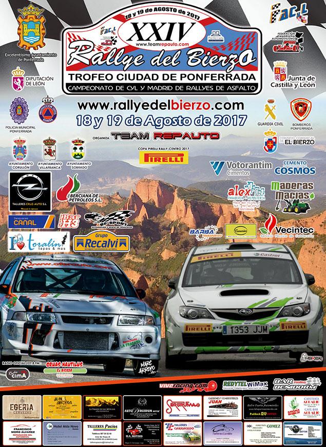Ya rugen los motores para la XXIV edición del Rallye del Bierzo que se celebra este fin de semana 1
