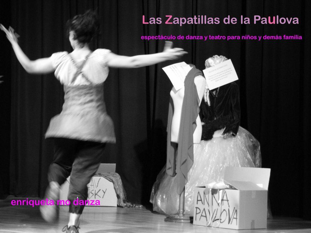 Danza en el Teatro de Cubillos del Sil con 'Las zapatillas de Paulova' 1
