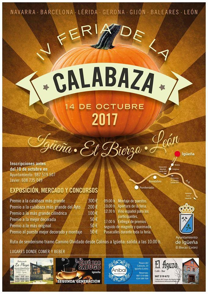 Igueña celebra la IV Feria de la calabaza el próximo 14 de octubre 1
