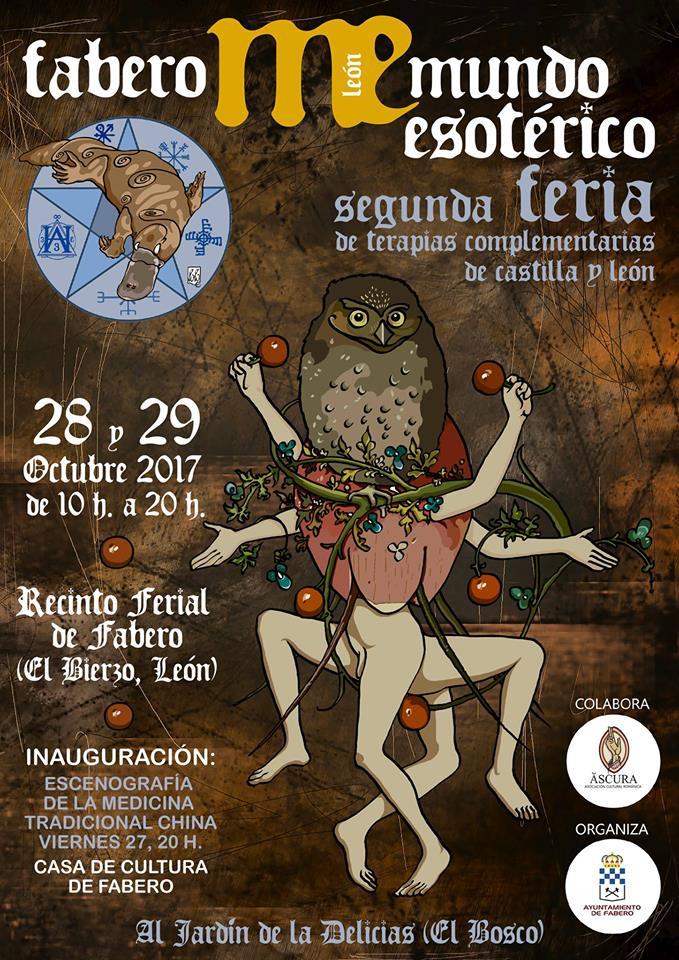 Fabero se apunta por segundo año al Mundo Esotérico con la 2ª Feria de Terapias Complementarias de CyL 1