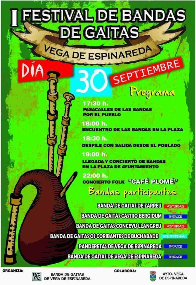 I Festival de Gaitas de Vega de Espinareda 1