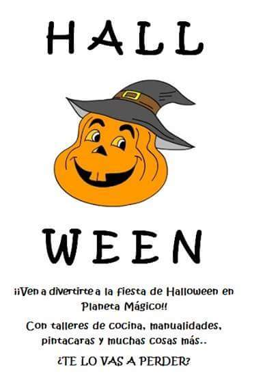 Halloween en ludoteca Planeta Mágico 1