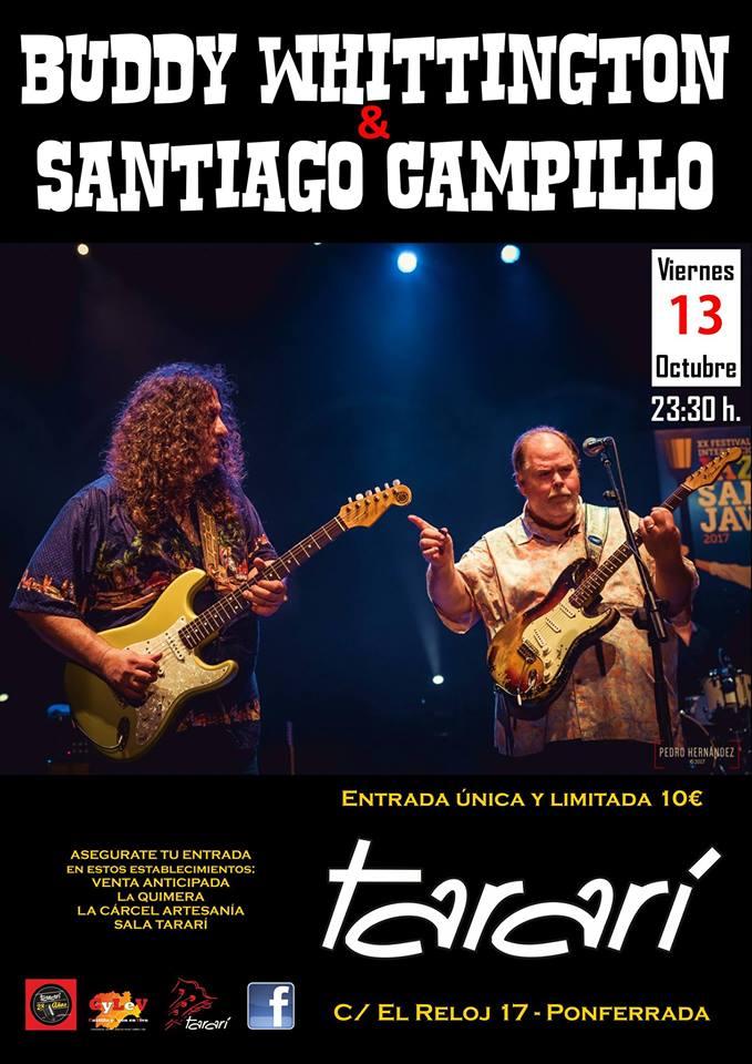Buddy Whittington & Santiago Campillo en Ponferrada 1