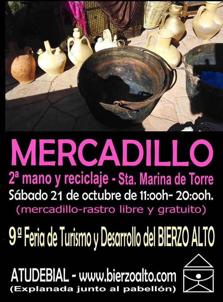 Mercadillo libre de 2ª mano y reciclaje en Santa Marina de Torre 1
