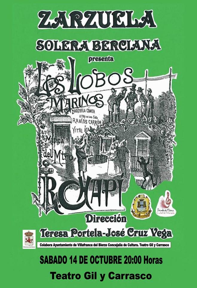 Zarzuela Los Lobos marinos 1