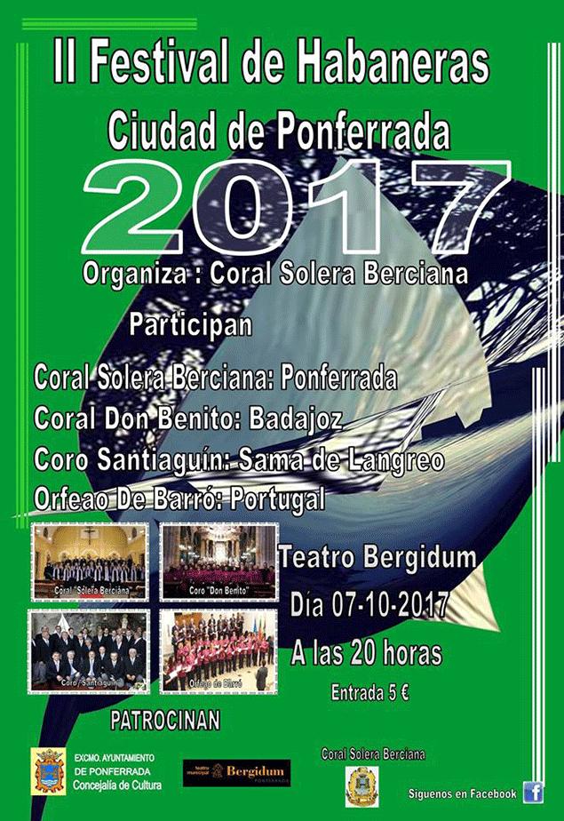 II festival de Habaneras Ciudad de Ponferrada 1