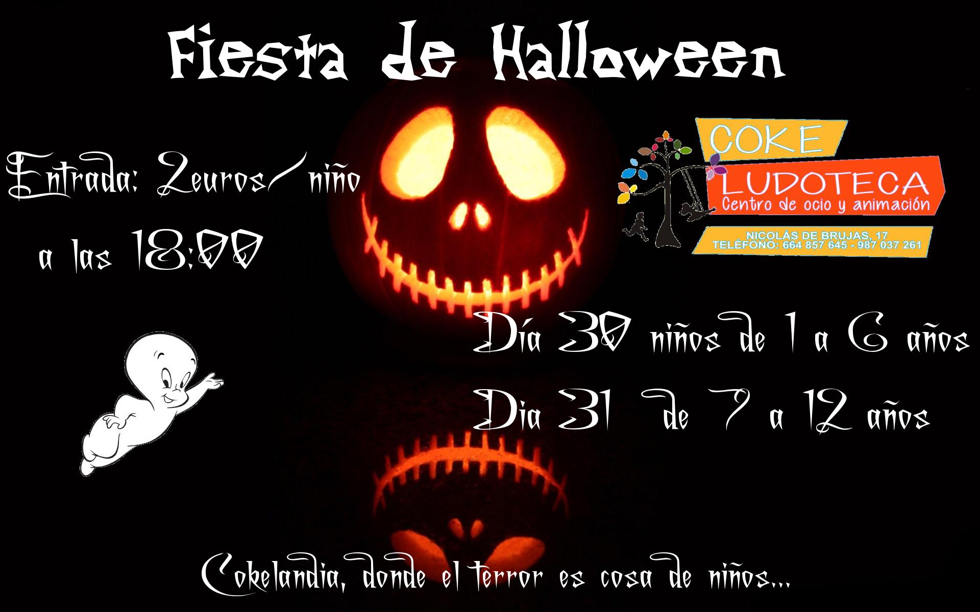Fiesta Halloween 2017 en Ludoteka Coke 1