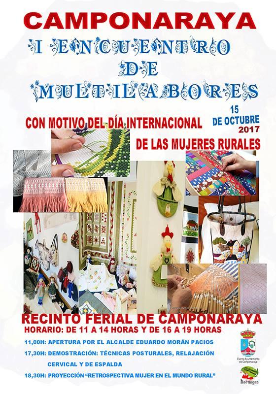 Camponaraya celebra su I Encuentro Multilabores 1