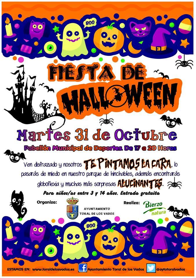 Fiesta de Halloween en Toral de los Vados 1