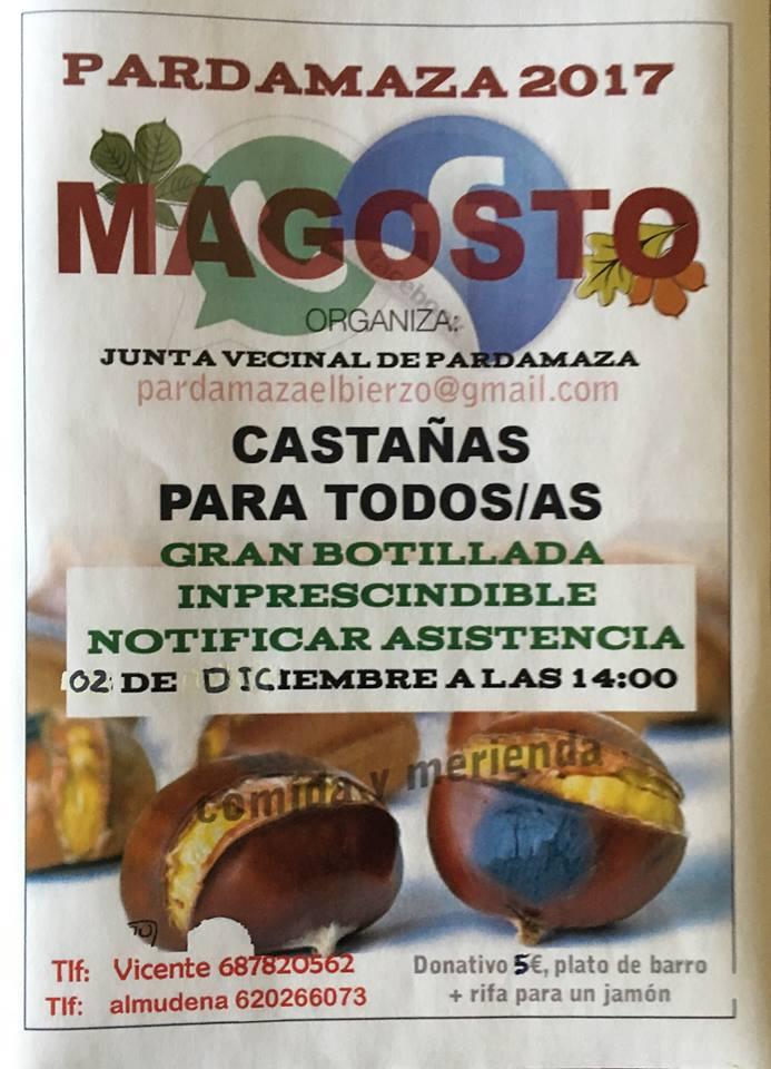 Magosto en Pardamaza 2 de diciembre de 2017 1