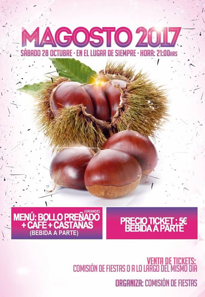 Magosto en San Pedro de Olleros 29 de octubre de 2017 1