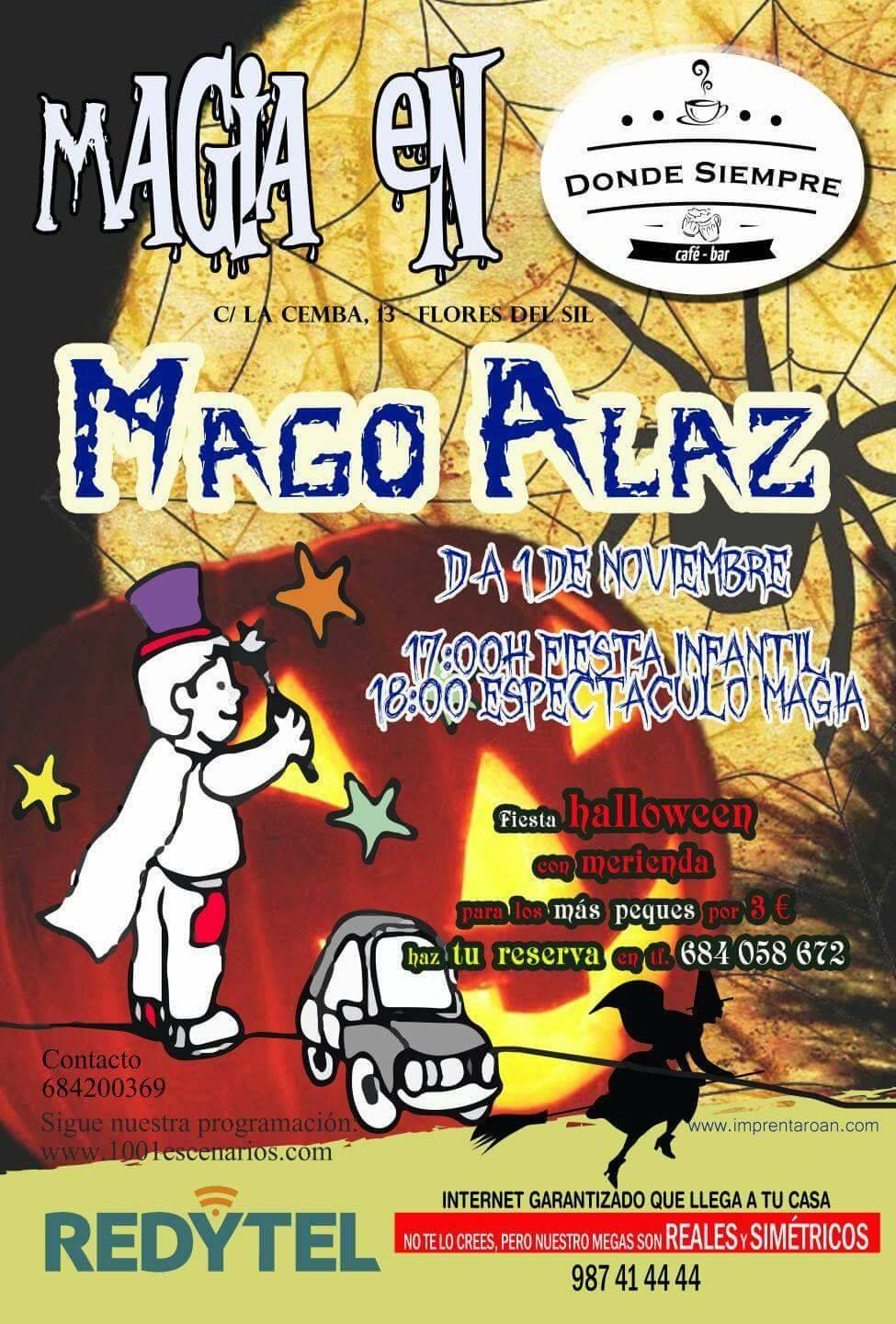 Fiesta infantil de Hallowen con magia 1