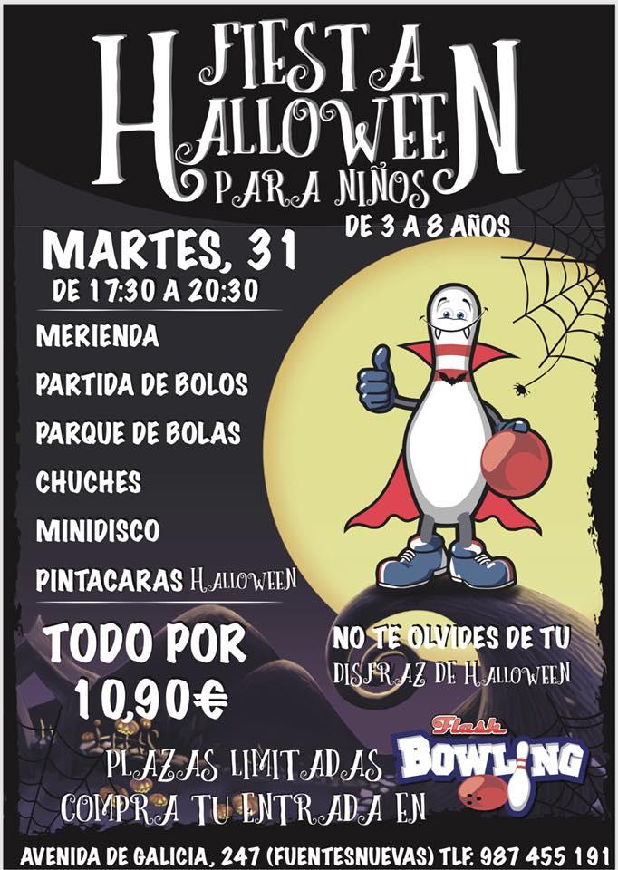 Fiesta Halloween en Flash Bowling 1