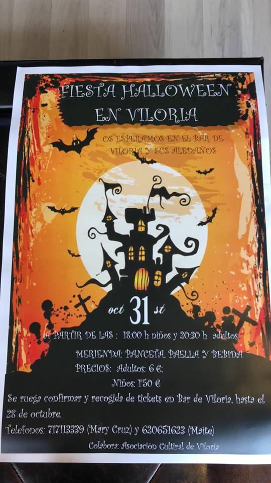 Fiesta Halloween 2017 en Viloria 1