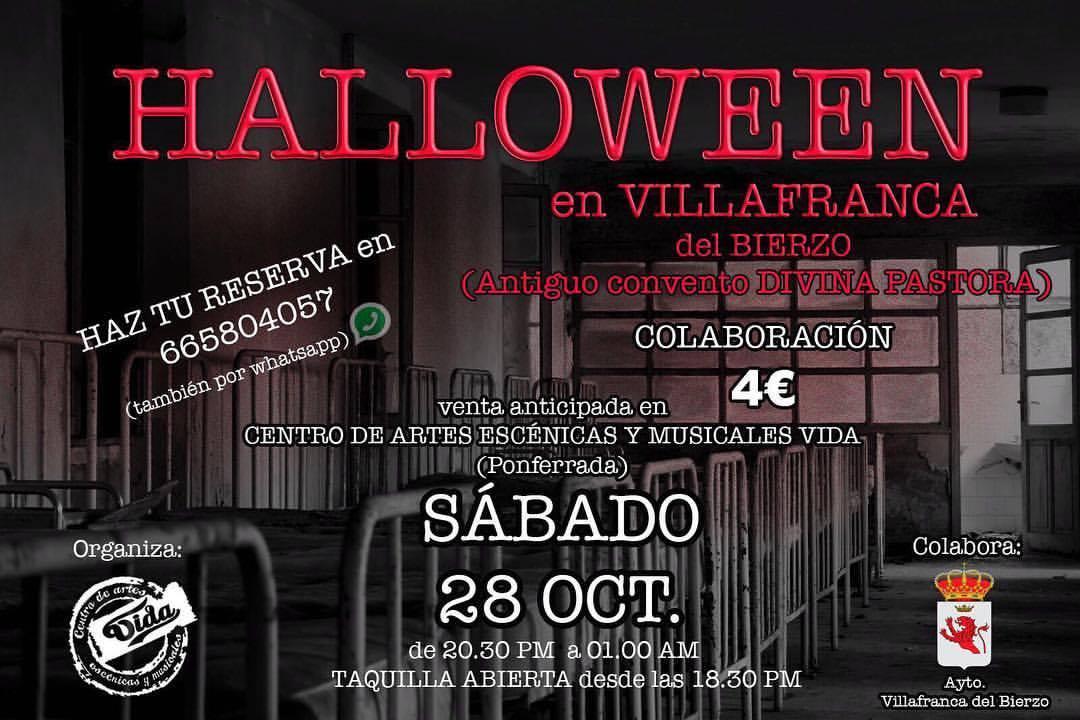 Terror y Halloween en el Antiguo Convento Divina Pastora de Villafranca 1