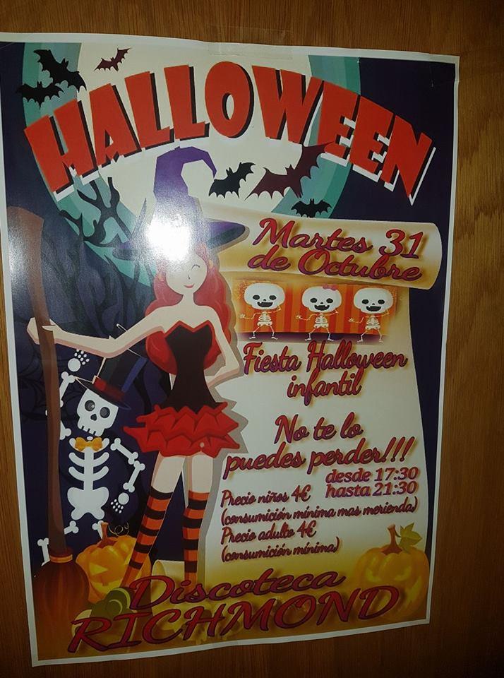 Baile infantil de Halloween en Discoteca Richmond 1