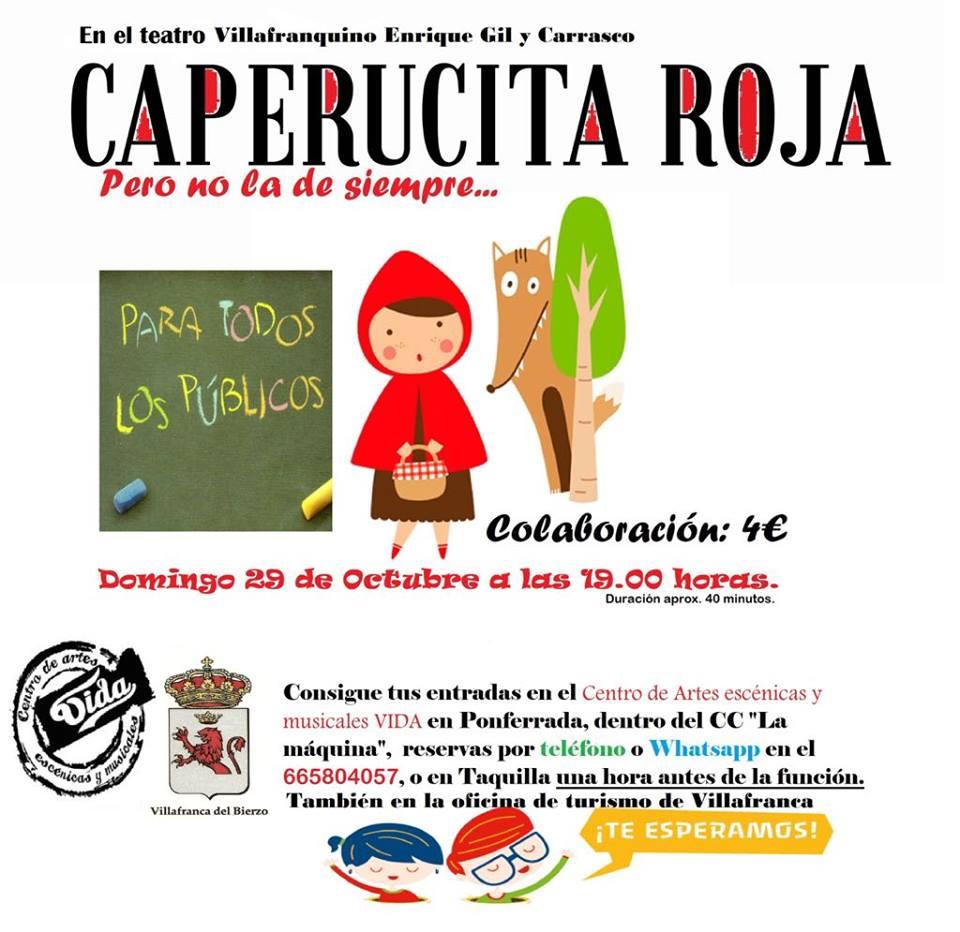 Una caperucita Roja diferente el domingo en Villafranca del Bierzo 1