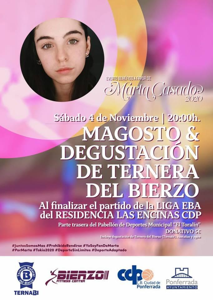 Magosto + Ternera del Bierzo benéfico a favor de Marta Casado 1