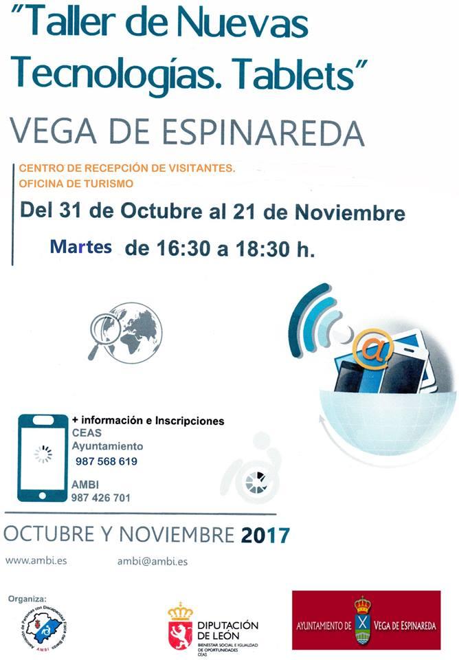 Curso de nuevas tecnologías en Vega de Espinareda 1