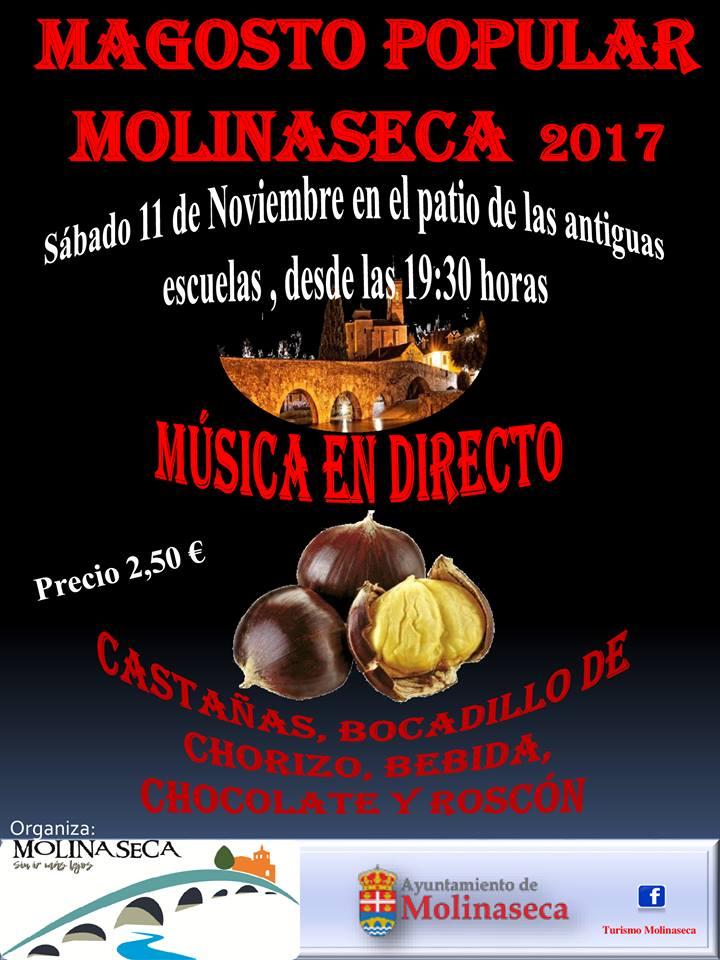 Molinaseca celebra su magosto poular el 11 de noviembre 1