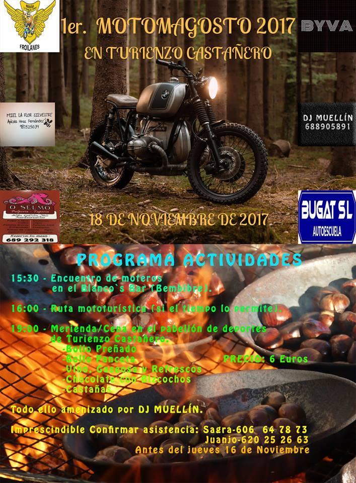 Turienzo Castañero organiza el 1er 'Motomagosto' 1