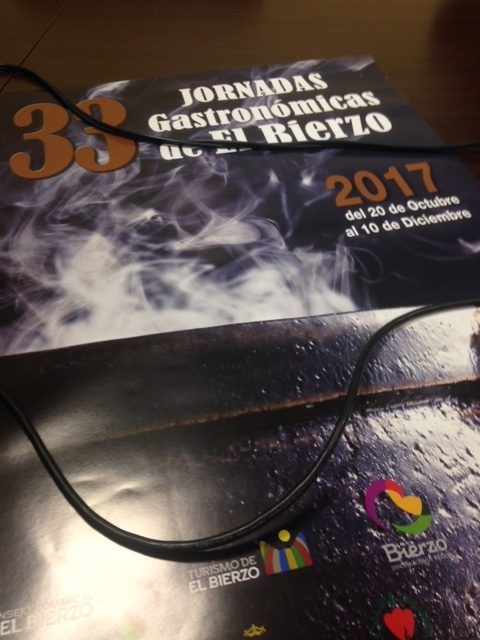 Ovidio Lucio, mantenedor de las 33 Jornadas Gastronómicas del Bierzo 2017 que contarán con 44 participantes 2