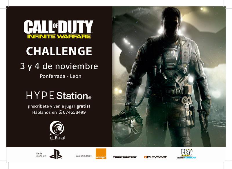 Hype Station organiza una Infinite Warfare Challenge 2vs2 1