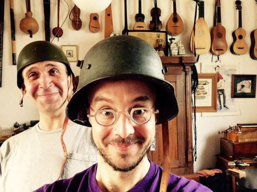 La Brigada Bravo&Díaz ofrecen un original concierto a partir de músicas populares de la I Guerra Mundial 1