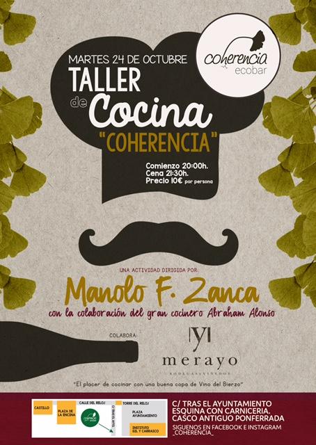 Taller de cocina con Manuel F. Zanca 1