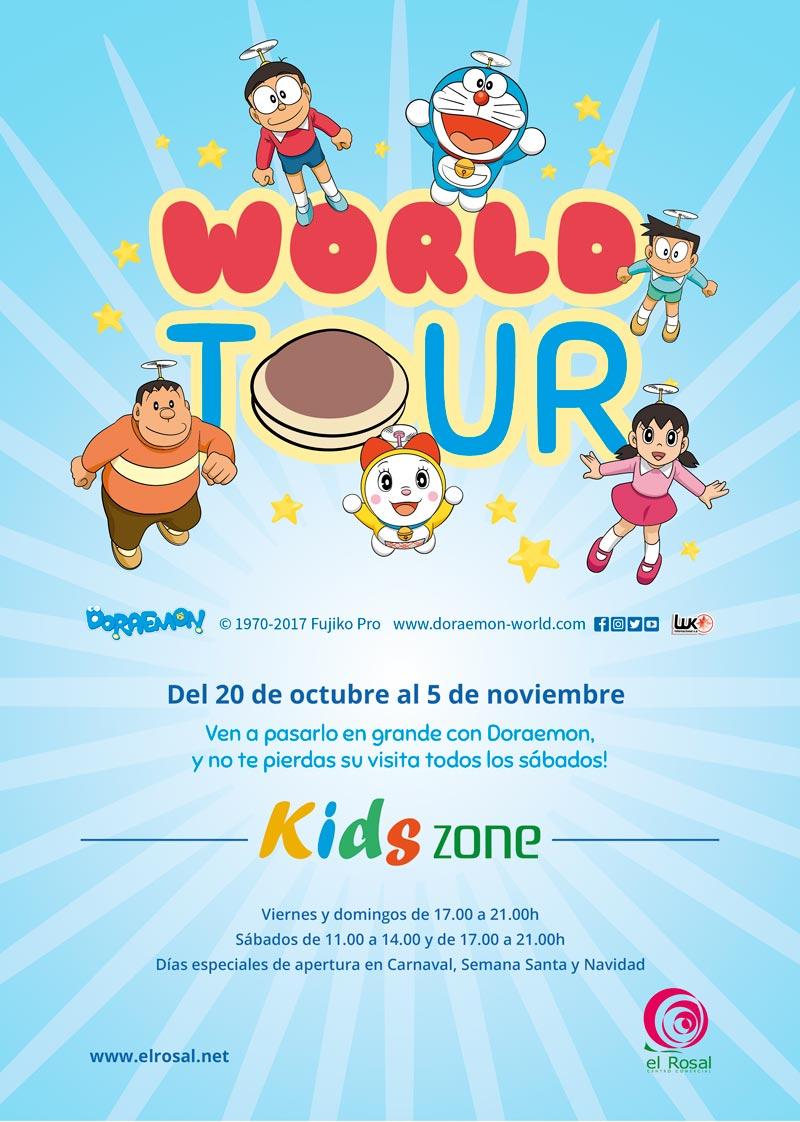 Doraemon en la Kids Zone del Centro Comercial El Rosal 1