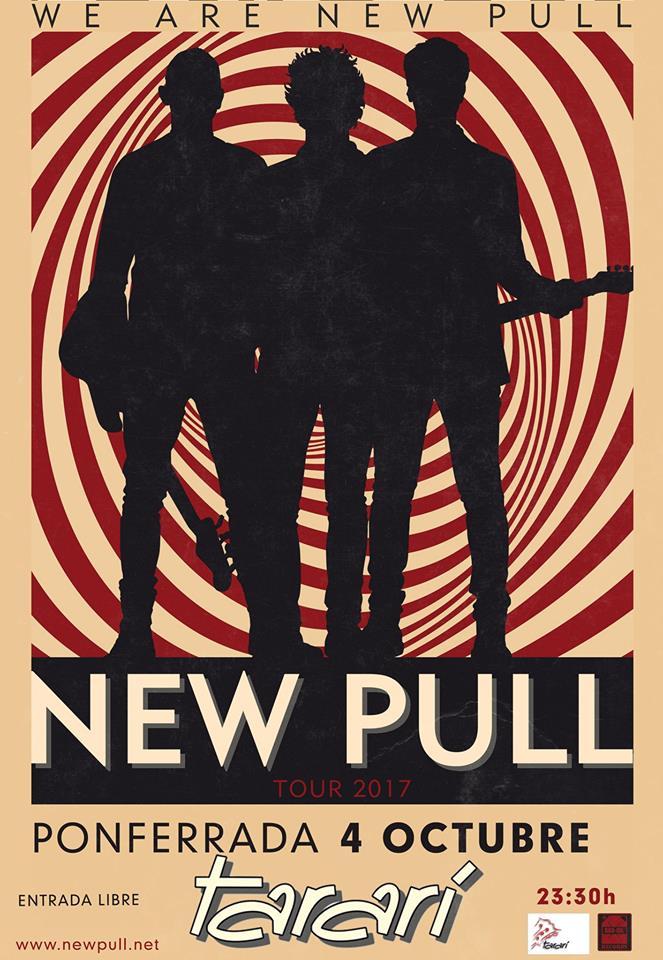 Concierto de New Pull el sábado en el Tararí 1