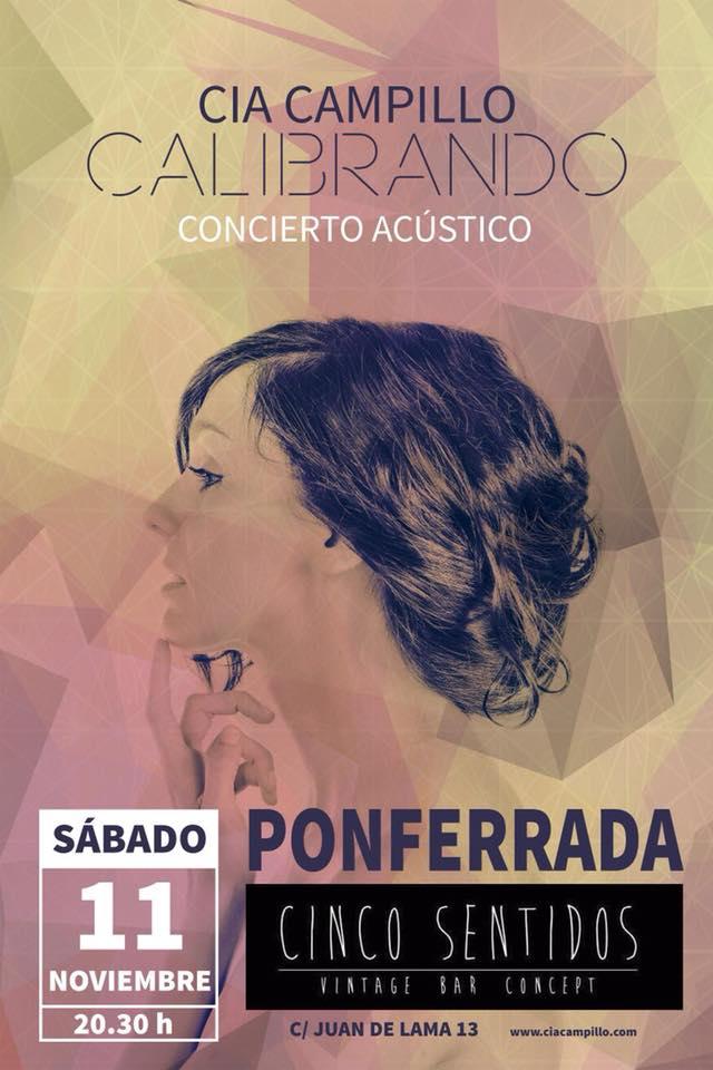 Cia Campillo en concierto acústico 1