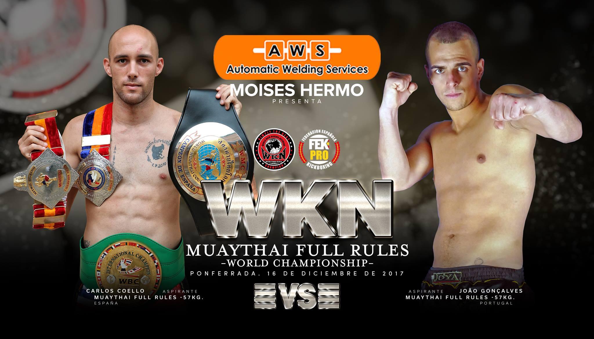 Ponferrada se convertirá en el corazón de las artes marciales: K1 & MuayThai World Championship -16 De Diciembre- Ponferrada 1