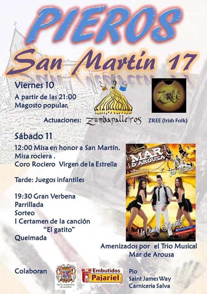 Fiesta de San Martín 2017 en Pieros 1