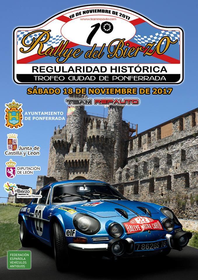 Ponferrada celebra un Rallye de regularidad histórica 1