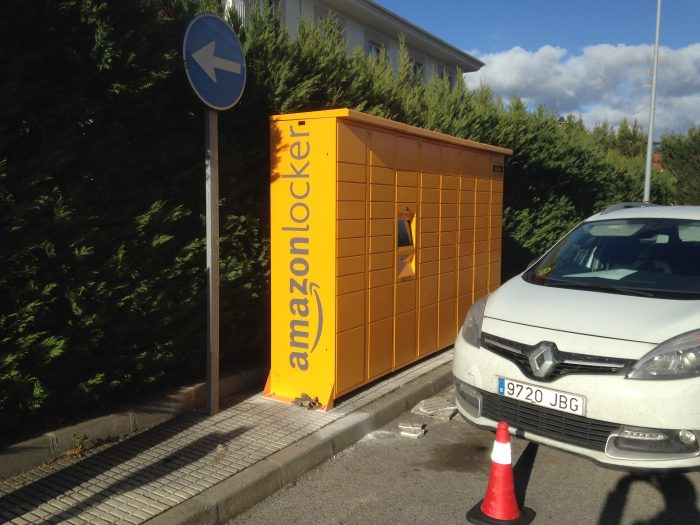 Amazon instala uno de sus puntos de recogida Amazon Lokers en Ponferrada 1