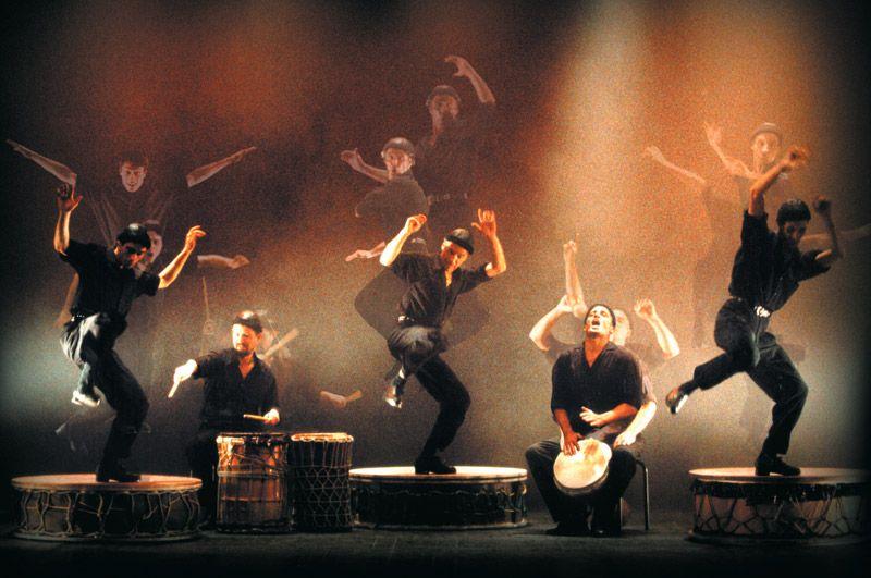 Camut Band ofrece un espectáculo de tap dance y percusión fresco, original, sorprendente y lleno de energía 1