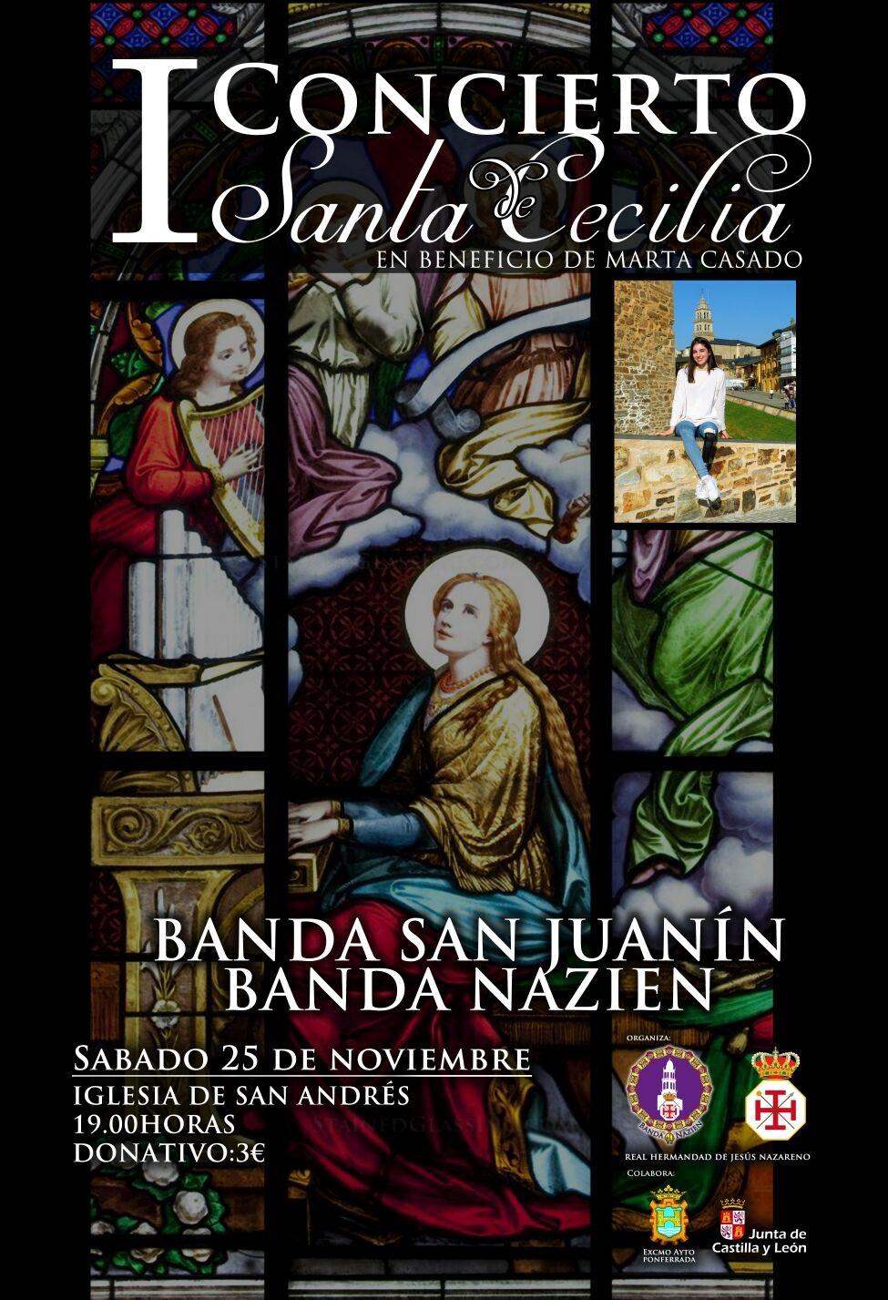 I Concierto de Santa Cecilia a beneficio de Marta Casado 1