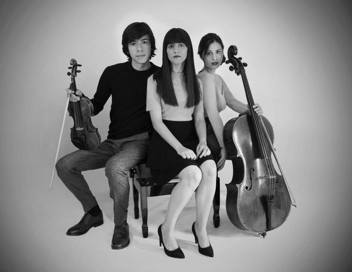 Concierto del trío Ayren de violín, chelo y piano en el auditorio del Conservatorio Cristóbal Halffter 1