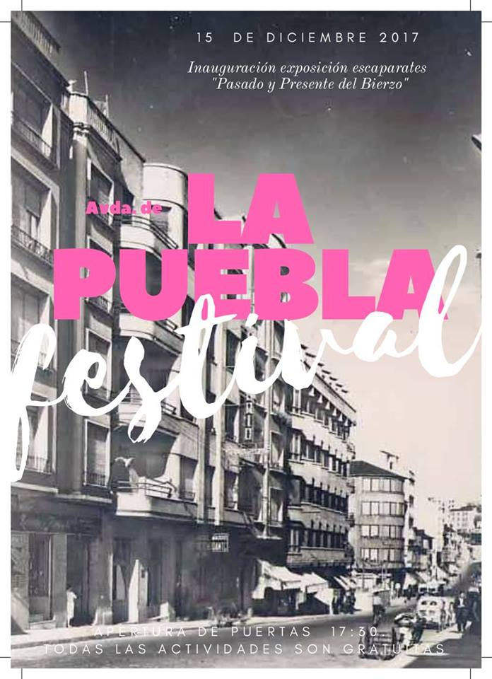 La Puebla Festival, la avenida más tradicional del comercio de Ponferrada reivindica su sitio 1